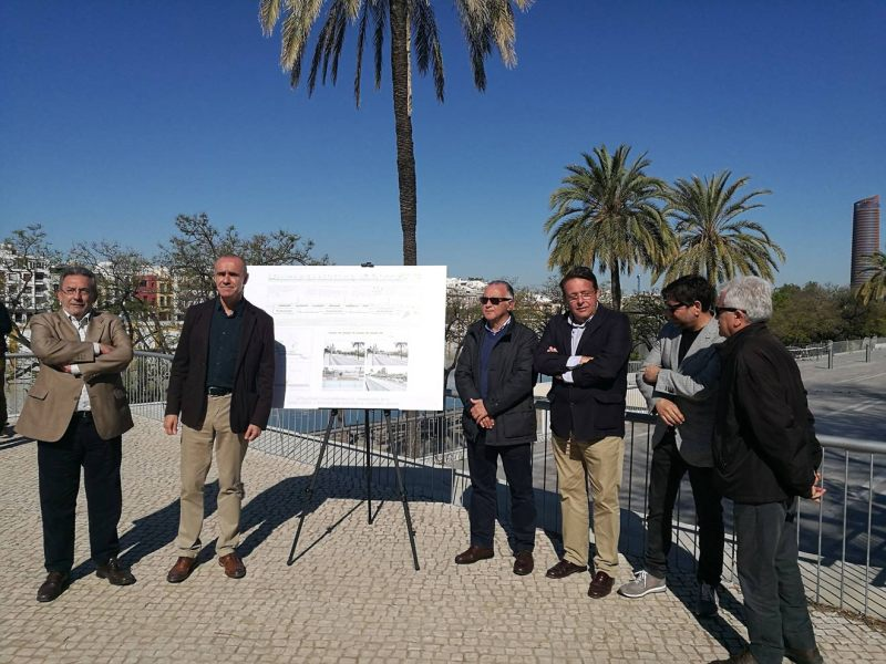Presentación obras Paseo Colón /Ayto. Sevilla