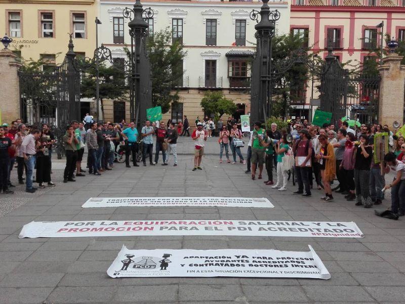 Huelga docentes universitarios /SA