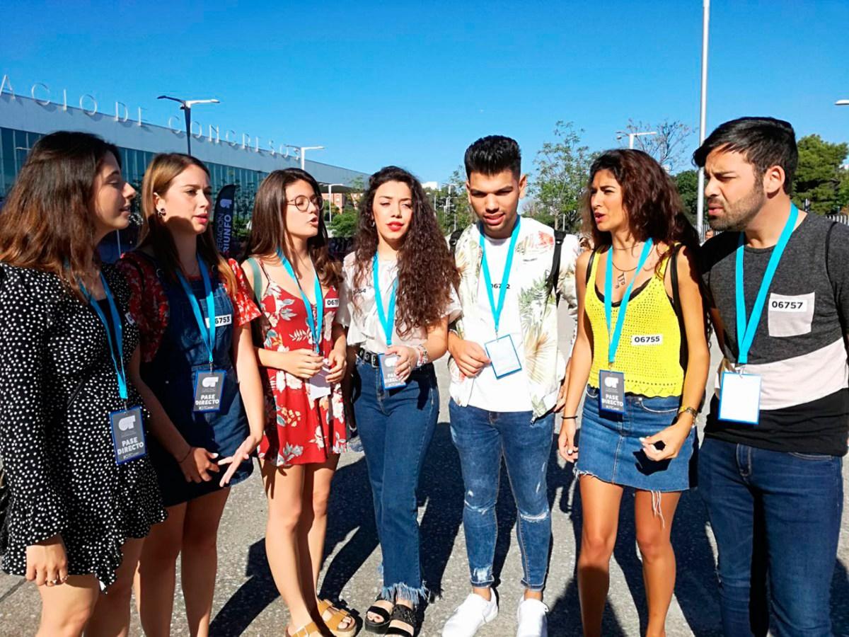 Casting de Operación Triunfo en Sevilla /@OT_Oficial