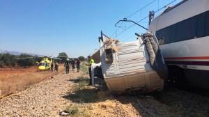 Estado del camión tras el accidente /Cedida