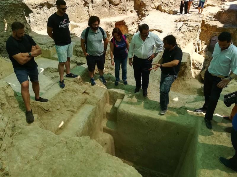 Nueva piscina romana en Carmona /Ayto. Carmona