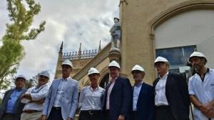 Obras en el Pabellón Real /Ayto. Sevilla