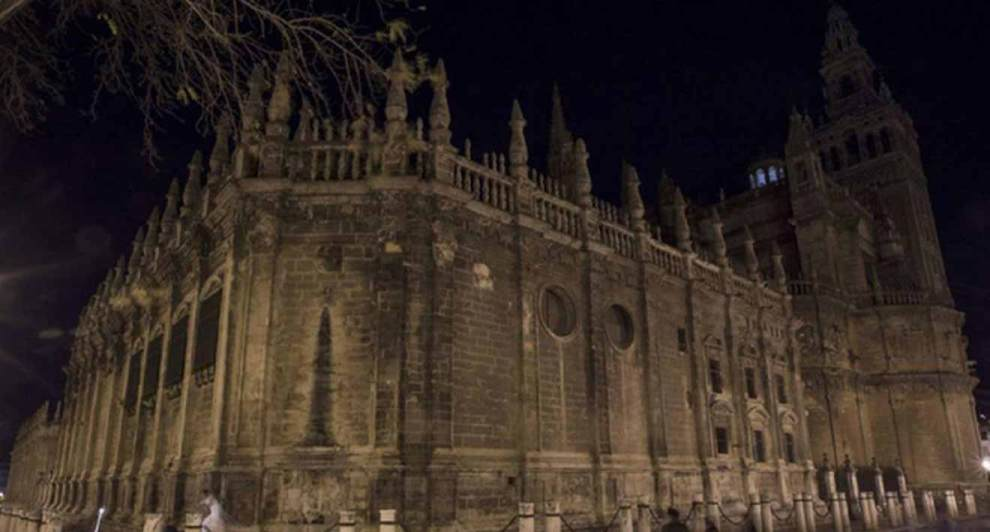 Catedral a oscuras /Cedida