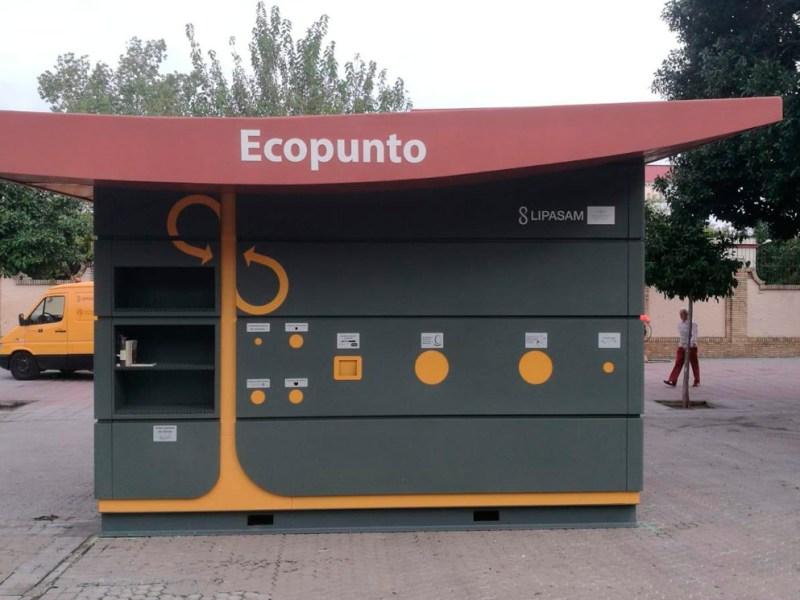 Uno de los ecopuntos instalados / MF