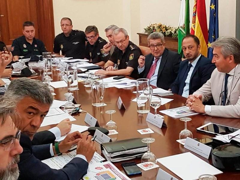 Reunión de coordinación de seguridad / Delegación del Gobierno de Andalucía