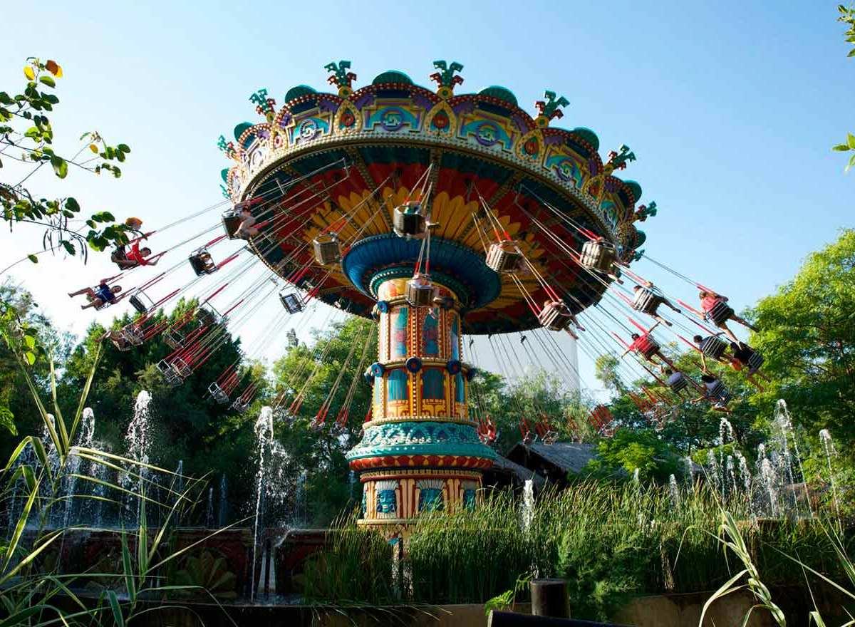 Atracción del parque / Isla Mágica