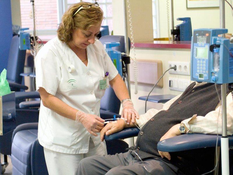 Personal sanitario / Hospital Virgen del Rocío