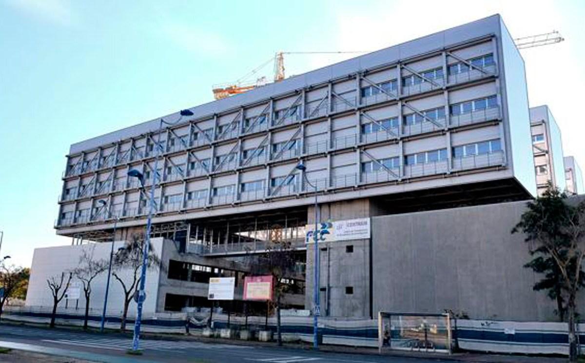 Obras en el edificio Centrius de la Cartuja /SA