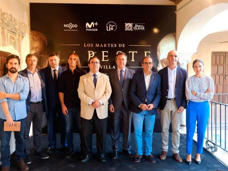 Presentación de actividades culturales entorno a La Peste /Universidad de Sevilla