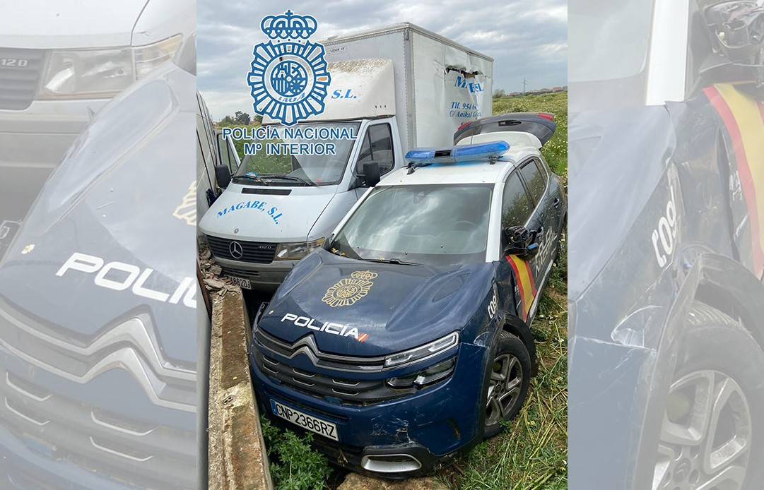 Camión policía