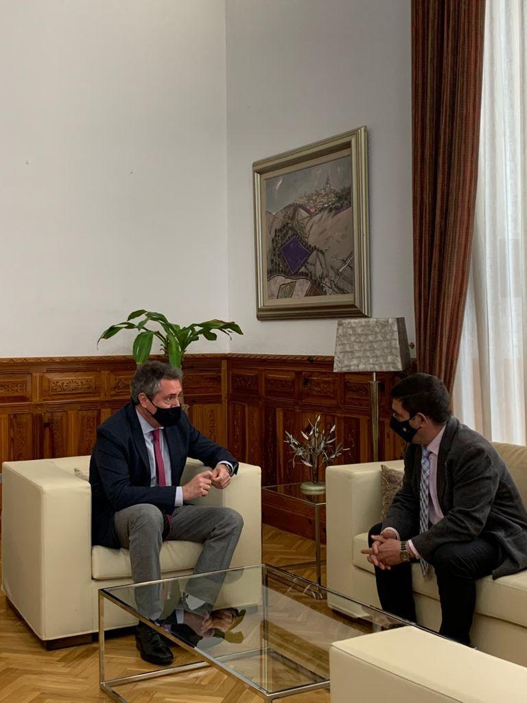 Juan Espadas y Julio Millán