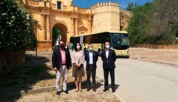 Nuevo autobús en la línea Carmona-Sevilla
