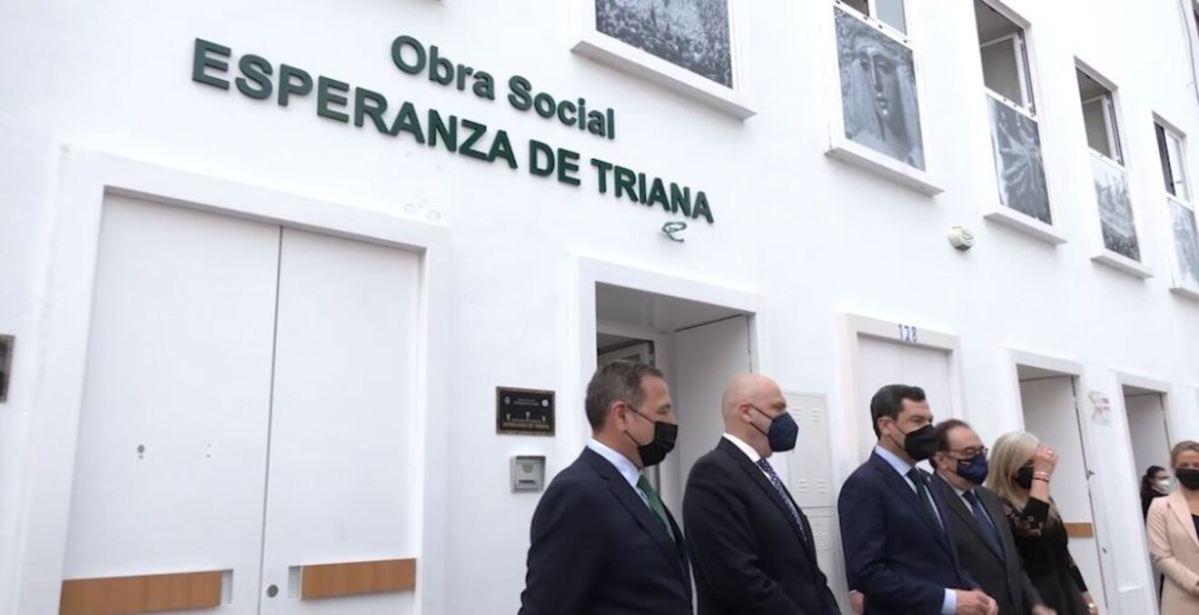 Obra social de la hermandad de la Esperanza de Triana / Junta