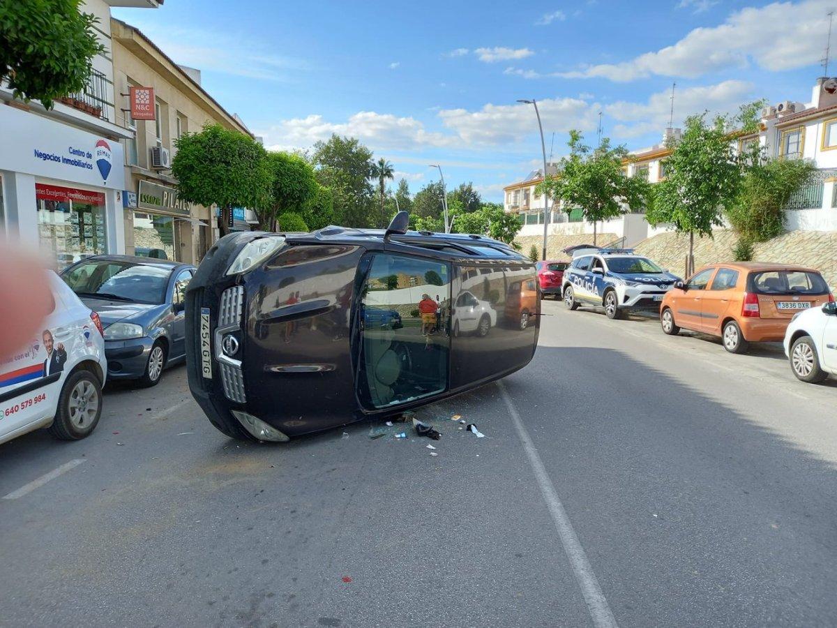 Accidente en Tomares / Emergencias