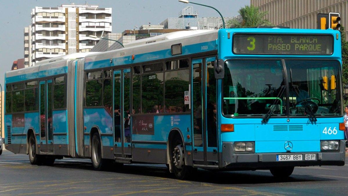 Autobús urbano de Málaga