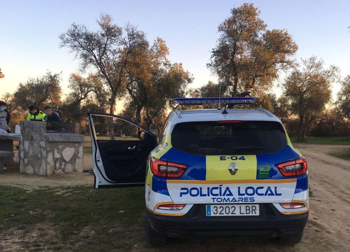 Intervención / Policía Local Tomares