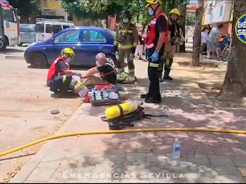Incendio Polígono Sur