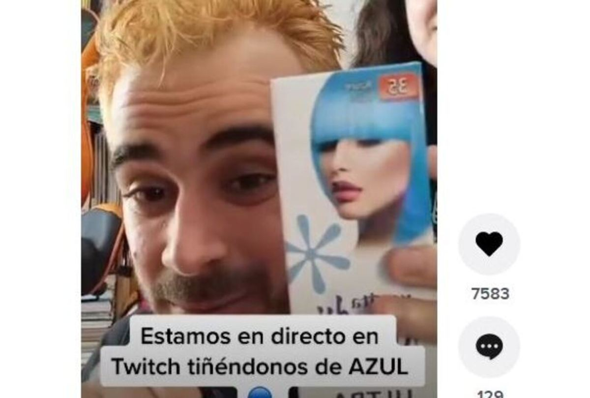 Pablo Díaz se ha teñido de azul tras ganar el bote de Pasapalabra / SA