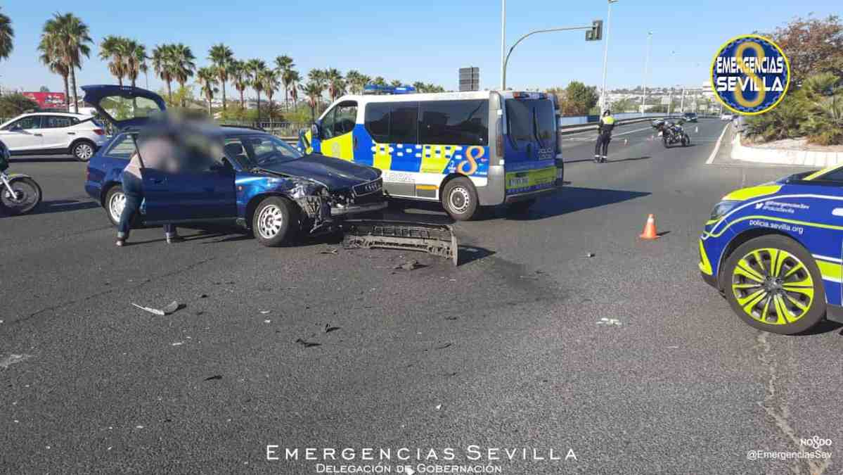 Accidente en la avenida Expo'92 / ES