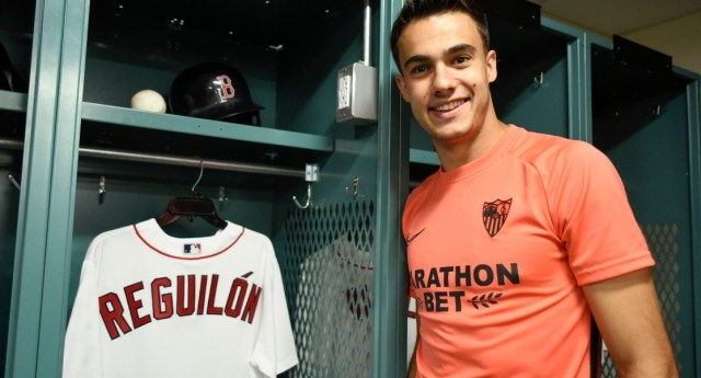 Reguilón speaks from Fenway Park | Sevilla FC