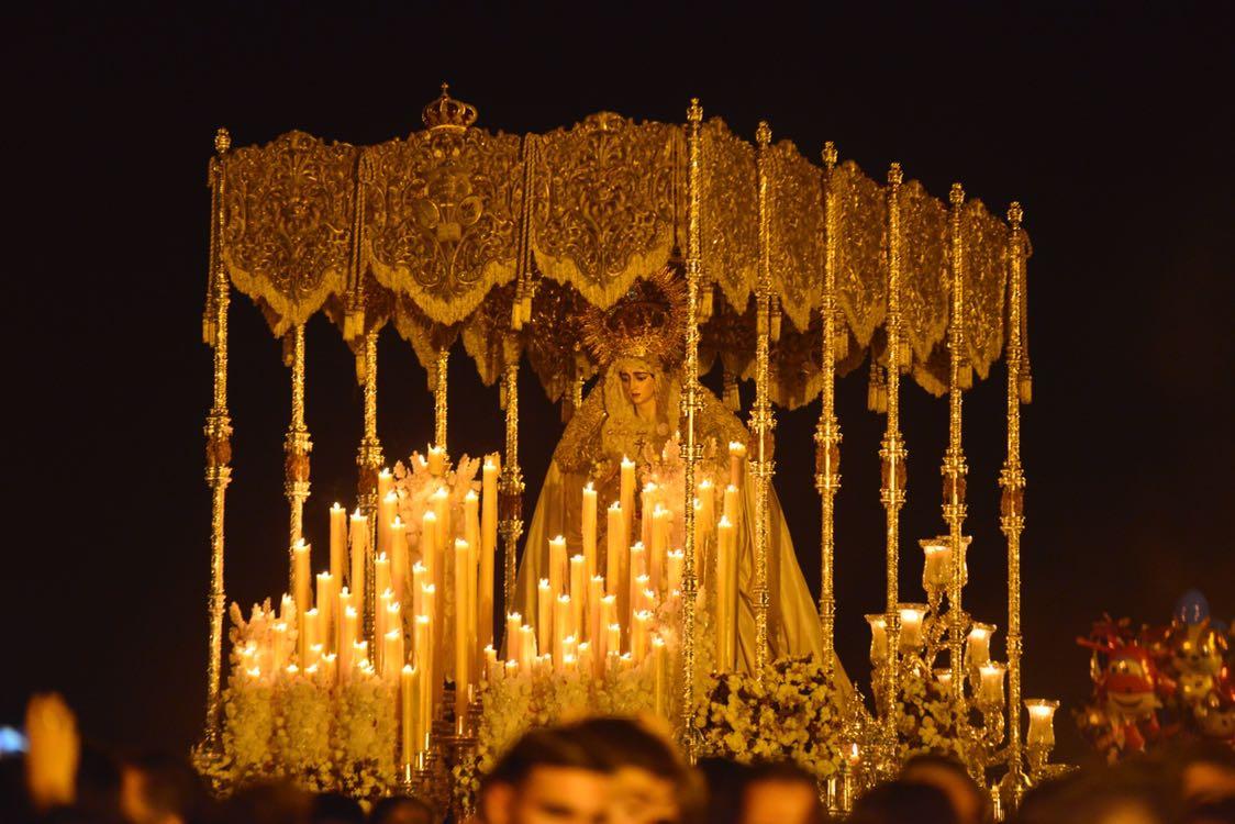 Traslado de vuelta Virgen Salud Coronada / Lince
