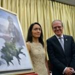 Isabel Sola, pintará la portada del Llamador de papel 2018