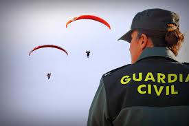 Imagen de una guardia civil, una de las instituciones mejor valoradas