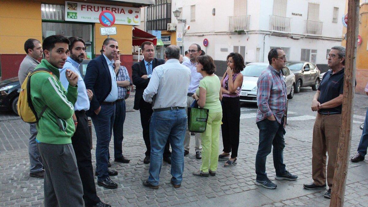 Cabrera de visita en el Pumarejo.