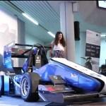 Arus presenta en la Cámara de Comercio su primer monoplaza eléctrico de competición