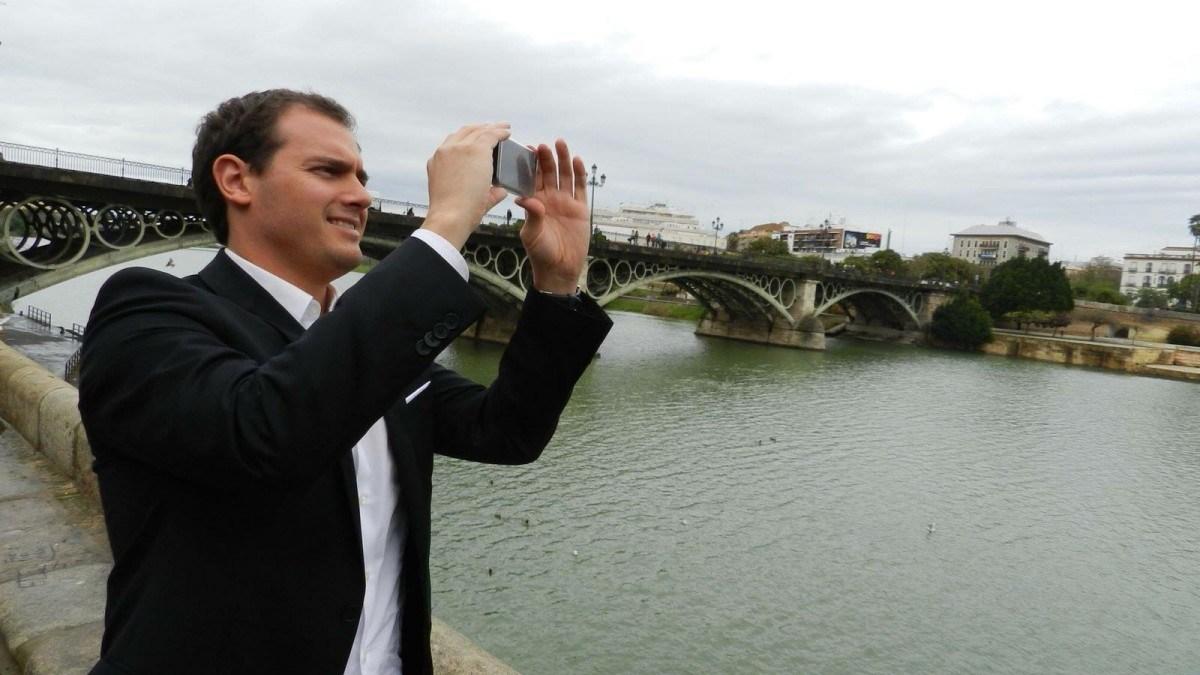 Albert Rivera, convencido de su victoria electoral en Andalucía