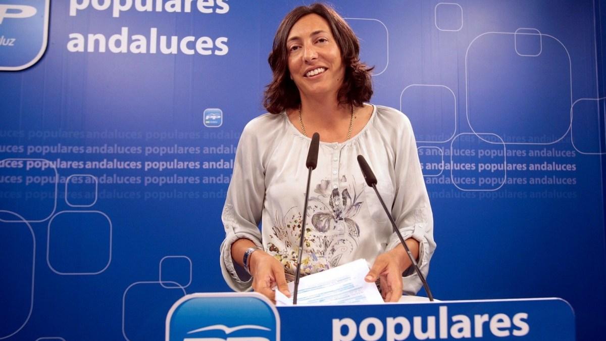 La secretaria general de los populares andaluces Loles López