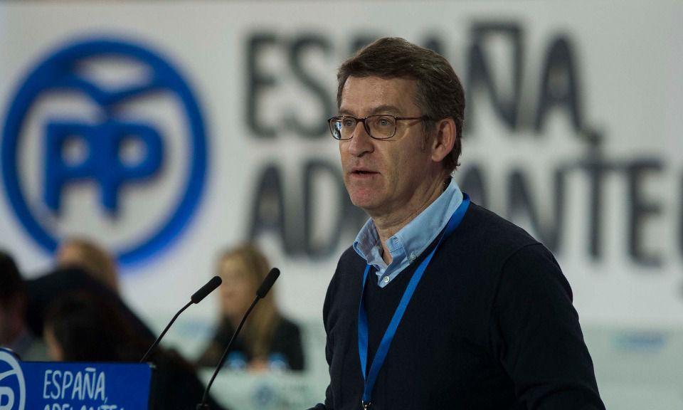El líder de los populares gallegos Núñez Feijóo