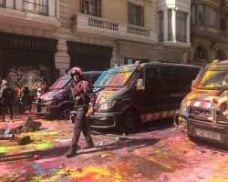 Solidaridad con el policía sevillano apalizado