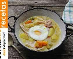 Vídeo-Receta. Sopa de verduras con pollo