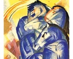 """«Chevaux. La torre de los caballos azules"""" de Antonio Fuentes Segura"""
