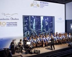 El Concierto benéfico del Coro del Colegio Internacional Europa en el Acuario de Sevilla recauda más de 6.000 €