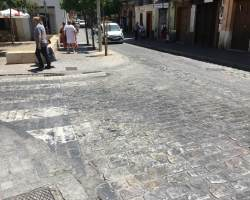 Aumenta en Sevilla la inseguridad de los peatones