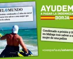 VOX lanza la campaña #AyudemosABorja