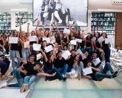 AireSur celebra con un desfile el fin de curso de la Escuela de Modelos ESSDM