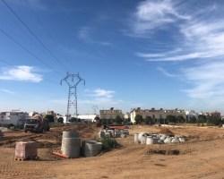 Empiezan las obras de urbanización de la Huerta San Andrés, en la que se invertirán más de 8 millones de euros