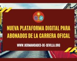 Los abonados de la Carrera Oficial tienen la oportunidad de registrarse en la nueva plataforma digital del Consejo Hermandades de Sevilla sin que le suponga un coste adicional