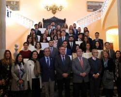 Entrega de premios a los mejores expedientes académicos del curso 2017/18 de 36 alumnos de la Universidad de Sevilla y de la Pablo de Olavide