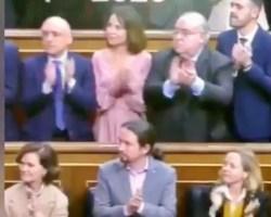 """Vídeo viral. """"Tocan las palmas por sevillanas"""" en la apertura de la Legislatura del Congreso"""