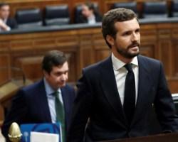 El Partido Popular: el perro de Sánchez