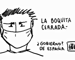 Profesor Jaén a trazos. La boquita cerrada