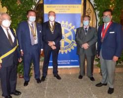 Manuel Ortiz, nuevo presidente de Rotary Club Sevilla