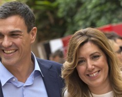 Las patadas de Sánchez a Susana Díaz en nuestro trasero