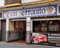 El Mesón del Serranito en la calle Alfonso XII reabre para sobrevivirUna ingeniosa publicidad en pesetas reclama el regreso de su clientela