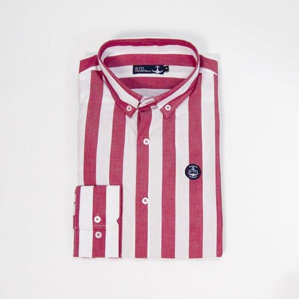 Sevillano y Molina – Tienda online moda hombre – Camisa Simikab Rojo