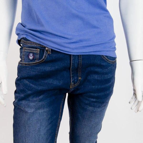 Sevillano y Molina – Tienda online moda hombre – Pantalón Tejano Damon Oscuro